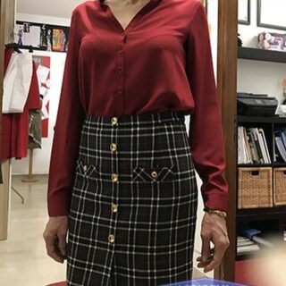 A New Skirt  from one of our students! #skirt #skirtlove #accademiasilvanamontifashionschool #fashion #fashiondesigner #moda#vogue #trend #trendy
